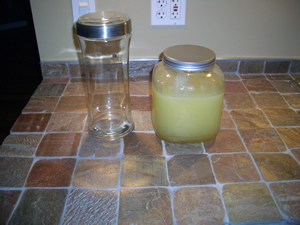 jar comparison How to Make Limoncello