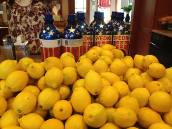 lemons vodka Amazing Wedding Favors